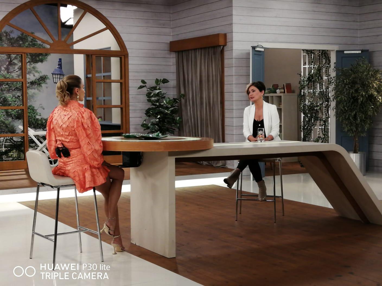Ayfer ÖZDEMİR, 31.10.2020 günü Show TV Hayat Güzeldir programı çekimlerinden