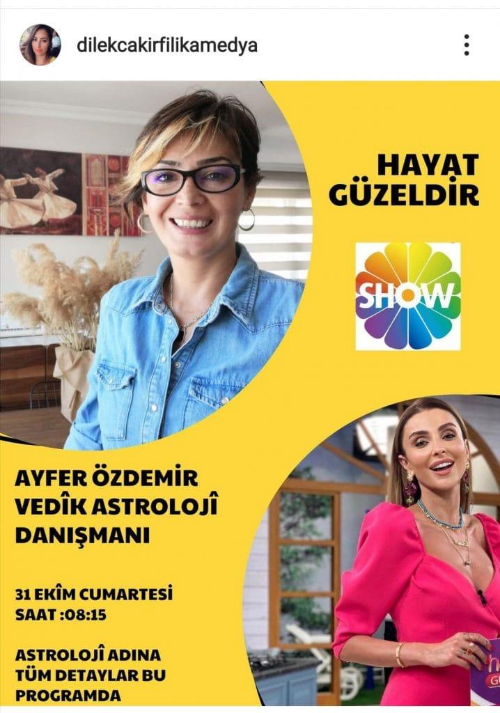 Show TV Hayat Güzeldir Programı- Ayfer ÖZDEMİR ile Yaşam Fısıltısı